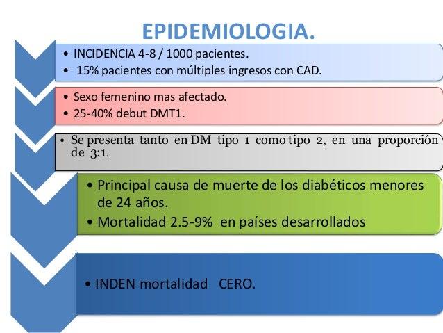 Cetoacidosis diabética y síndrome hiperosmolar no cetósico