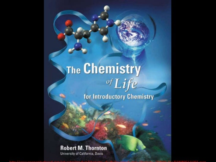 Chemistry of LIFE<br />http://www.pearsonhighered.com/educator/product/Chemistry-of-Life-for-Introductory-Chemistry-CDROM-...