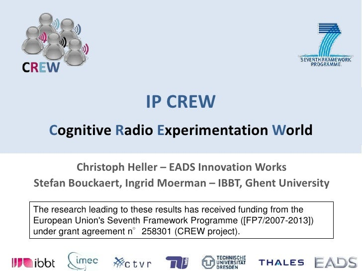 Christoph Heller - EADS for CREW
