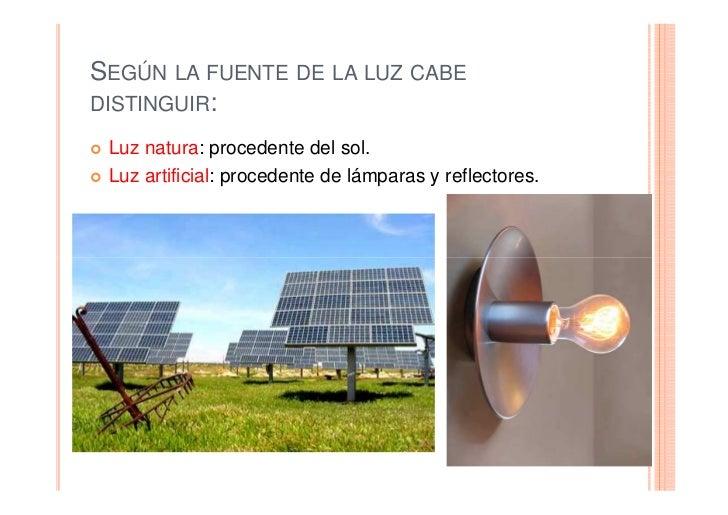 2  Clases Luz Y Estilos Iluminacion Slide 2