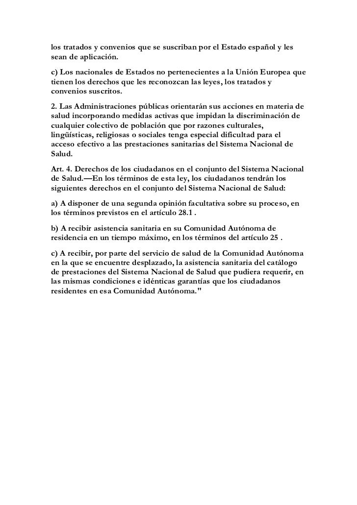 Artículo 2 Abogados Gómez Menchaca: Cohesión del sistema nacional de salud Slide 2