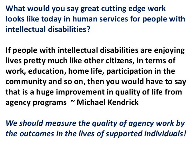 A QUESTION OF VALUE(S): Social Capital, Social Roles and Employment for People with Intellectual Disabilities and Autism Slide 2