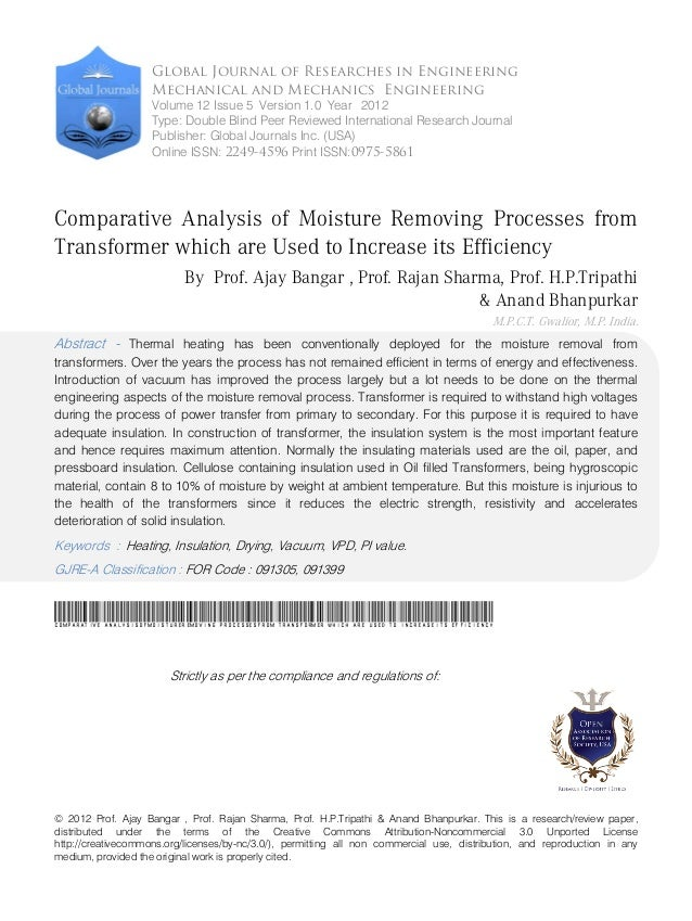 © 2012 Prof. Ajay Bangar , Prof. Rajan Sharma, Prof. H.P.Tripathi & Anand Bhanpurkar. This is a research/review paper, dis...