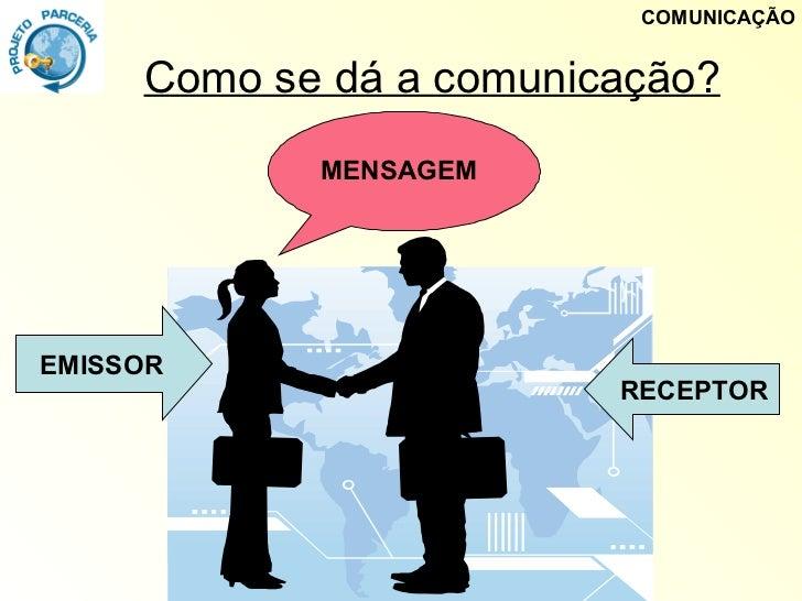 Resultado de imagem para como se dá a comunicação