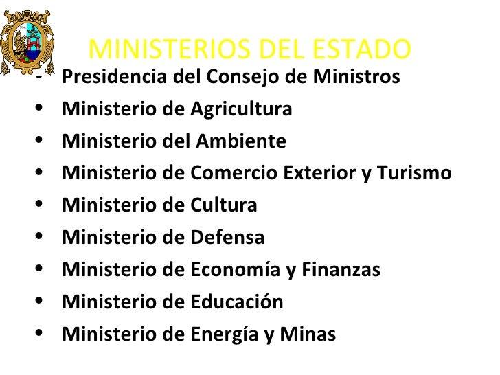 Del peru for Nombre del ministro de interior y justicia 2016