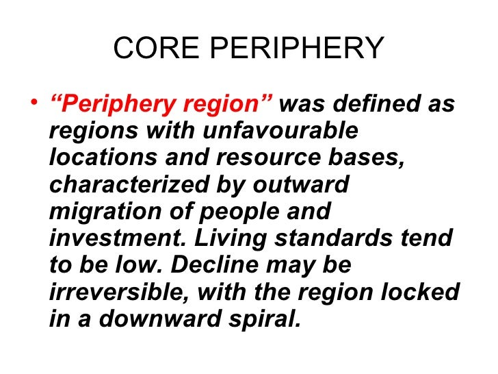 2 Core Periphery