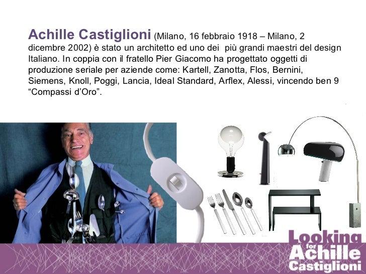 looking for achille castiglioni cristina bruzzi. Black Bedroom Furniture Sets. Home Design Ideas