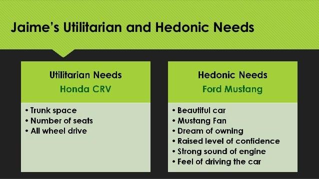utilitarian needs