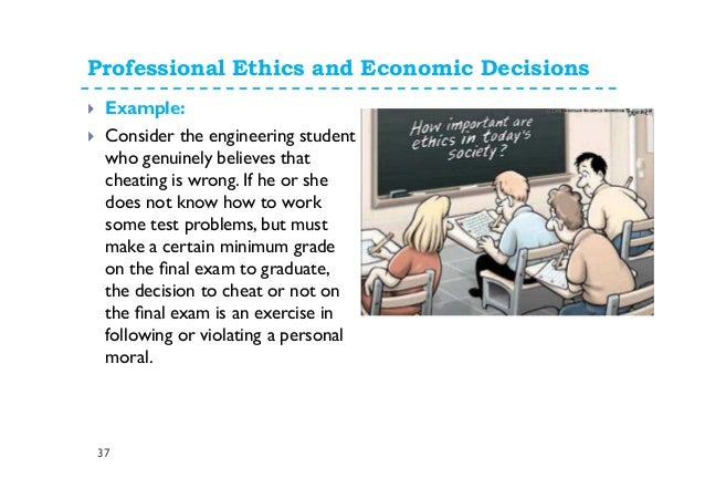 An examination of an ethical decision making | Coursework Example