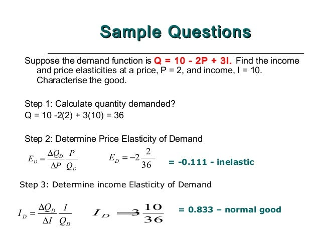 2 Demand Supply And Elasticity