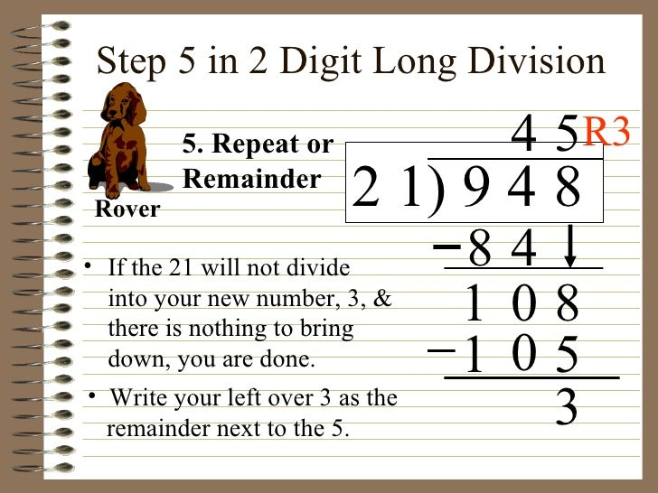 Two Digit Division