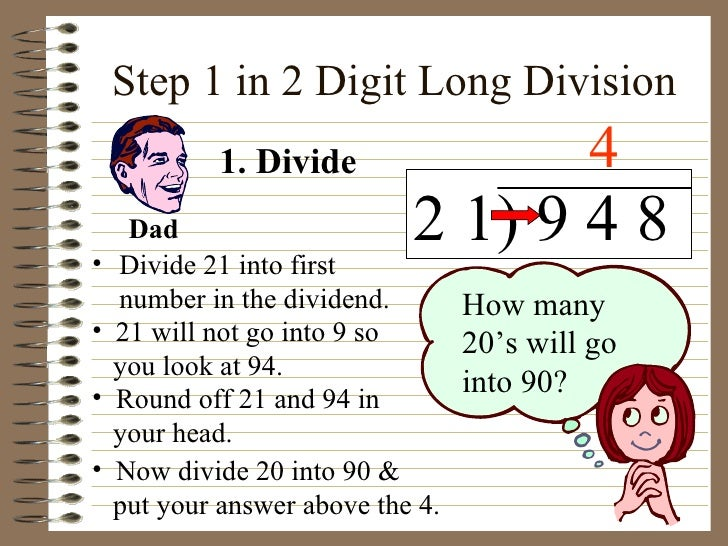 Two-Digit Division