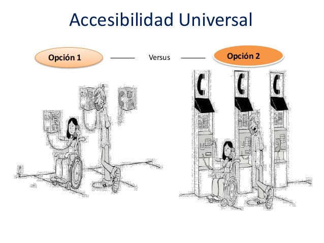 2 dise o universal for Accesibilidad universal