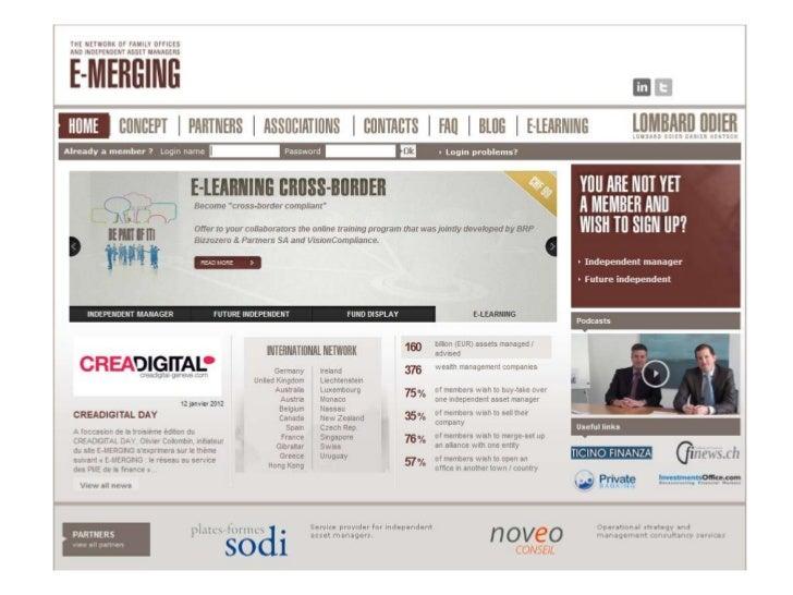 E-merging : Le réseau au service des PME de la finance