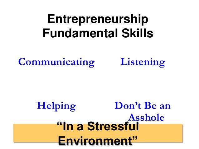 entrepreneurship dating