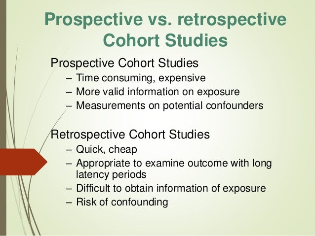 critique a retrospective cohort study Criteria to meet retrospective status (exempt/expedited) for review: protocol must be research involving materials (data, documents we request a waiver of informed consent and hipaa due to the retrospective nature of this research.