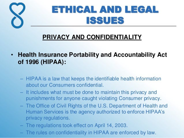 An analysis of the effects of heath insurance on portability and accountability act hipaa