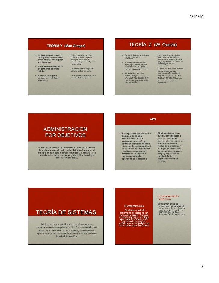 Evolución general de la administración Slide 2
