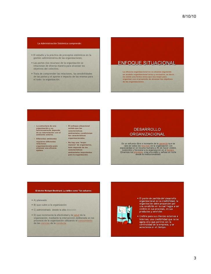 Evolución general de la administración Slide 3