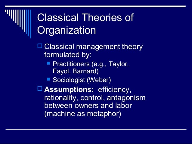 instrumentality theory formulated by taylor 1911 From theory to practice: an explorative study into the instrumentality and specificity of implementation intentions.