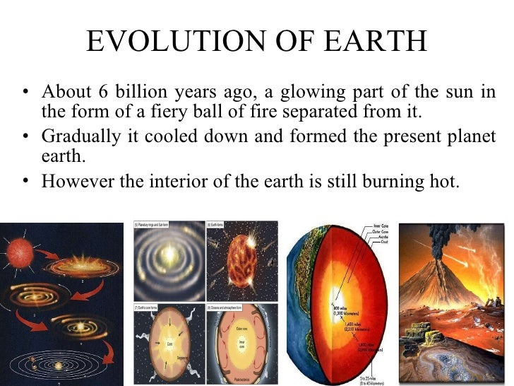 Evolution of life n earth