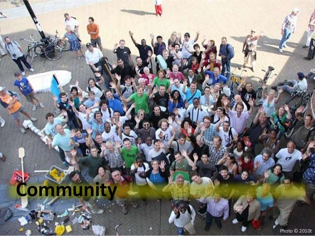 Community            Photo © 2010t