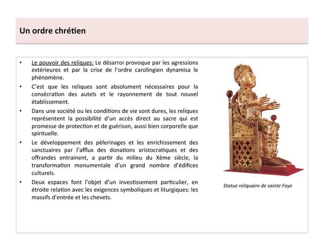 Un ordre chré3en • Le pouvoir des reliques: Le désarroi provoque par les agressions extérieures...