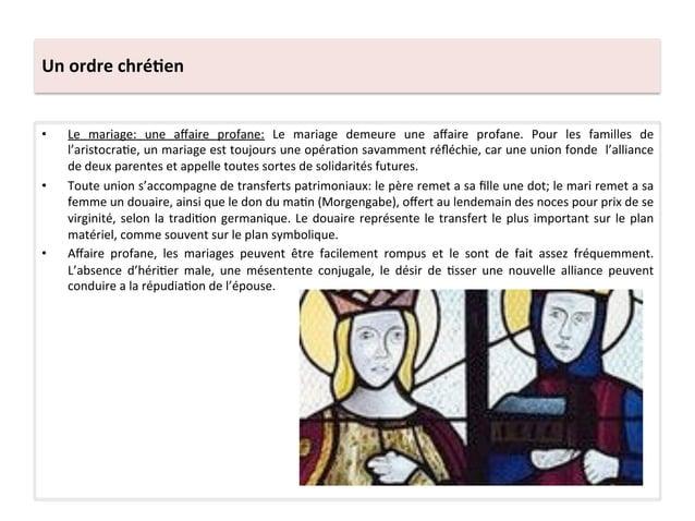 Un ordre chré3en • Le  mariage:  une  affaire  profane:  Le  mariage  demeure  une  affaire  prof...