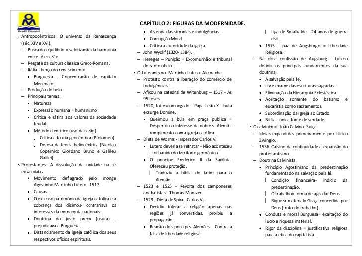 CAPÍTULO 2: FIGURAS DA MODERNIDADE.                                                           A venda das simonias e indul...