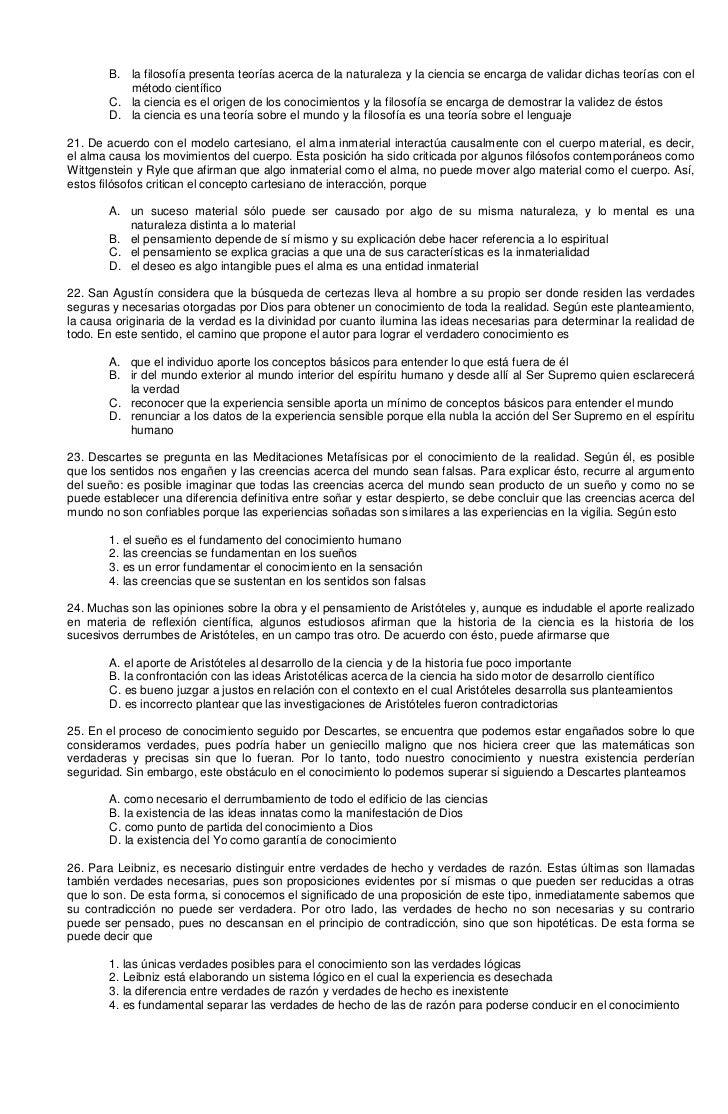 2 filosofia banco preguntas examen icfes mejor saber 11 un blog - Como saber si una casa es del banco ...