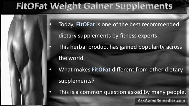 weight gainer how to use