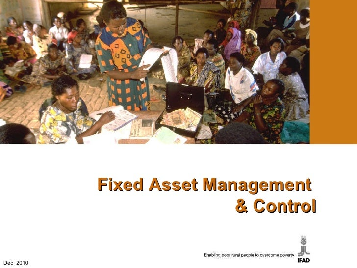Fixed Asset Management  & Control Dec  2010