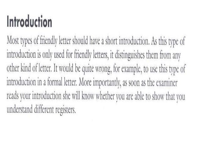 Friendly letter introduction examples idealstalist friendly letter introduction examples thecheapjerseys Images
