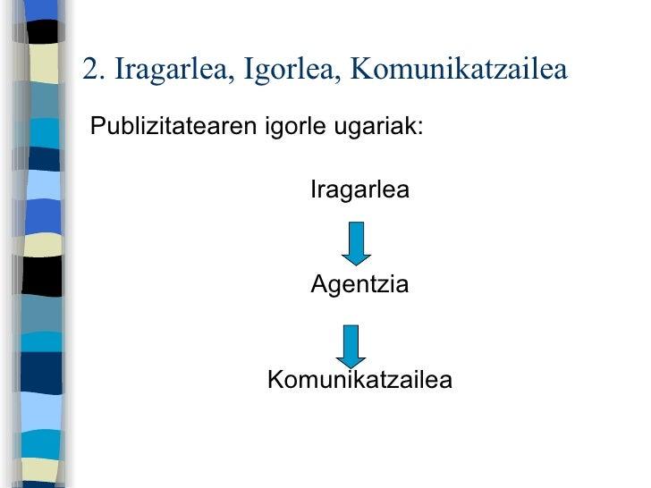 2. Iragarlea = Igorlea