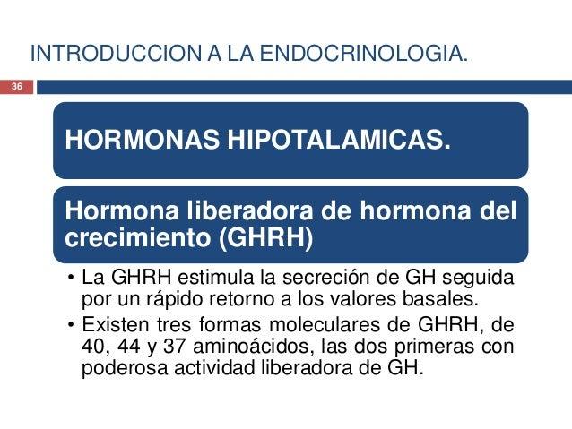 EJE HIPOTALAMO-HIPOFISARIO.FISIOLOGIANORMAL.• 1. Presencia de estímulofisiológico.• 2. Liberación de hormonaliberadora de ...