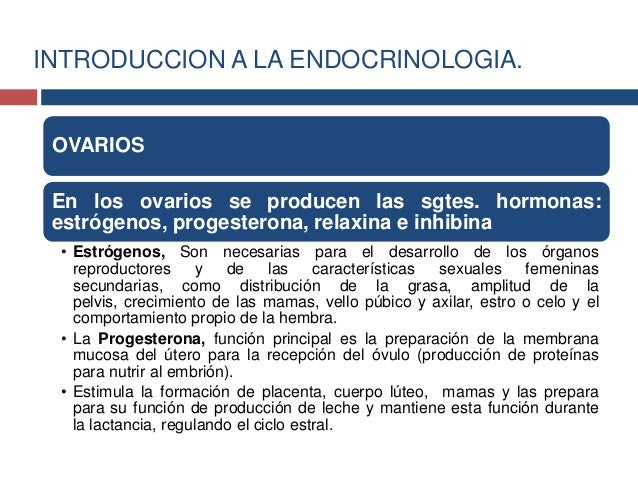 INTRODUCCION A LA ENDOCRINOLOGIA.