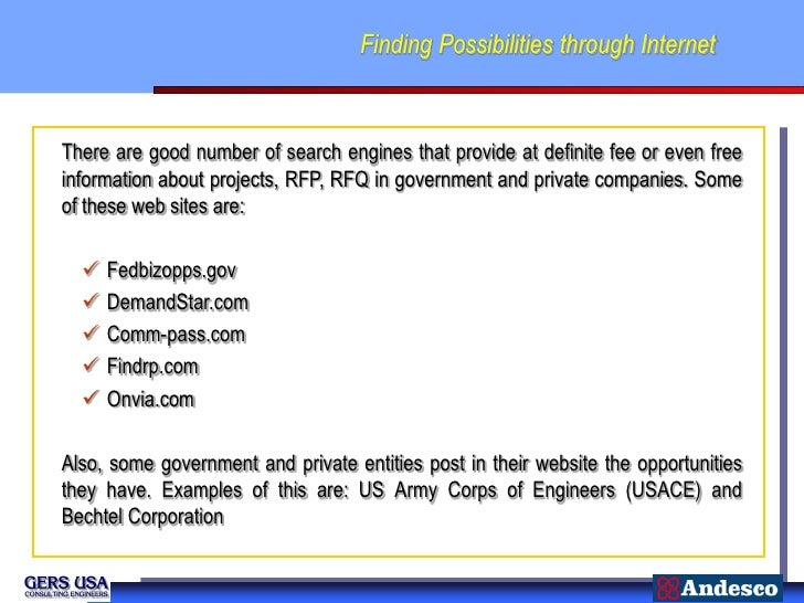Finding Possibilities through InternetThere are good number of search engines that provide at definite fee or even freeinf...