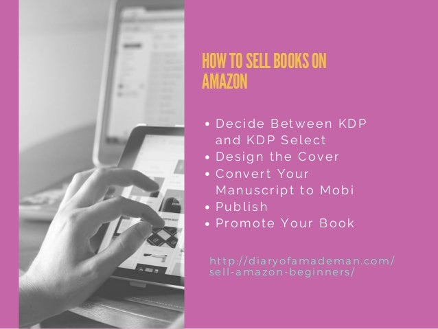 Kdp Book Cover Design : How to sell on amazon for beginners