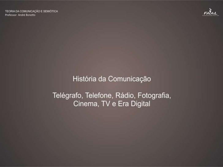 O que é o Telégrafo?• O telégrafo é um sistema concebido para transmitir  mensagens de um ponto para outro em grandes  dis...