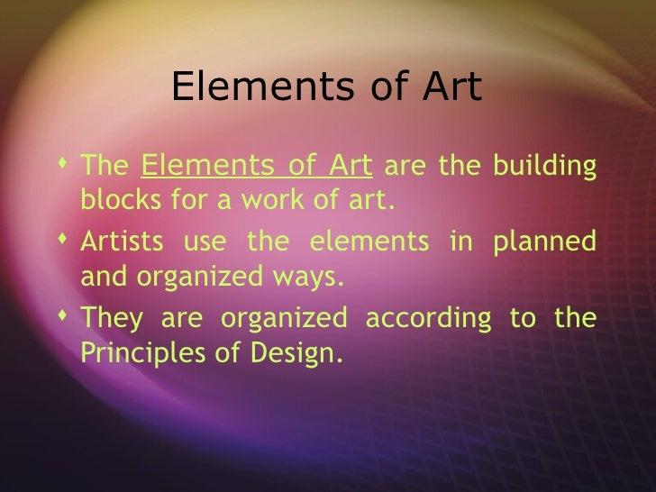 7 Principles Of Design In Art : Art elements