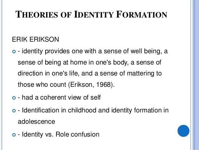 Sexual identity development theory