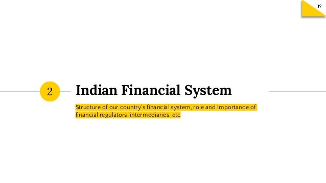 FETP Session 2 - Indian Financial System