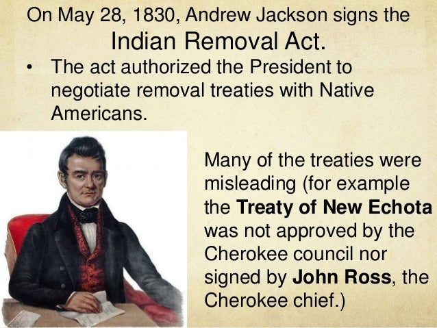 Indian Removal Act Andrew Jackson indian removal
