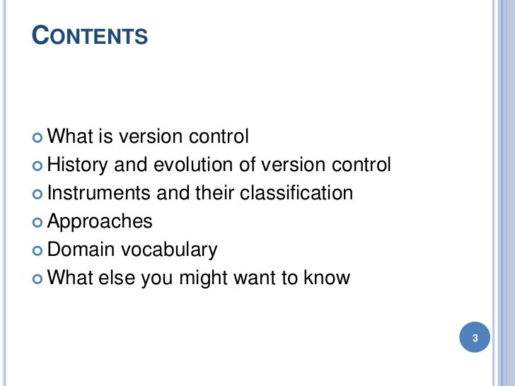 01 - Introduction to Version Control Slide 3