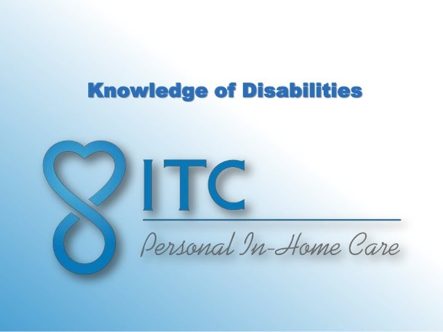 Knowledge of Disabilities