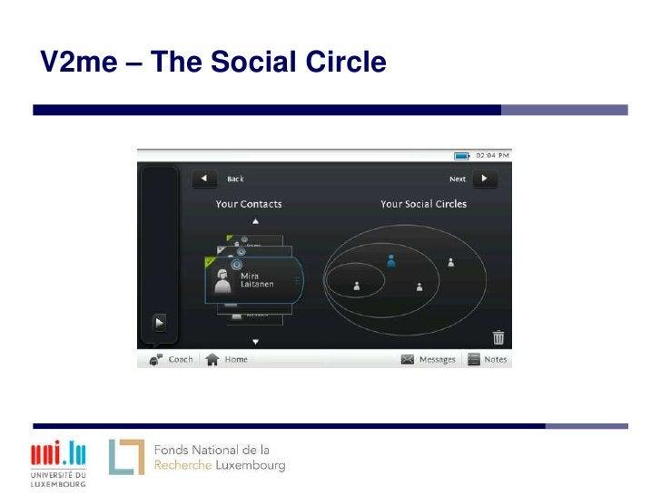 V2me – The Social Circle