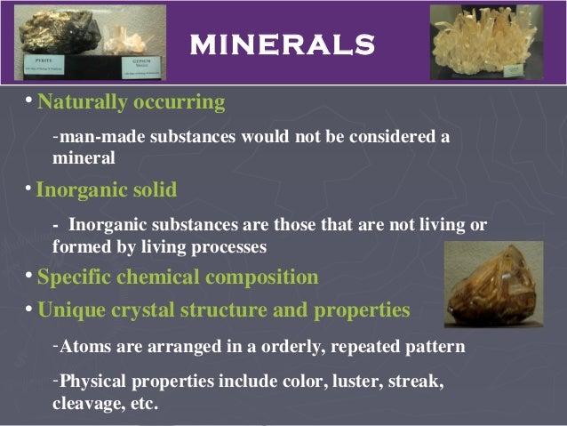 Louisiana Rocks And Minerals