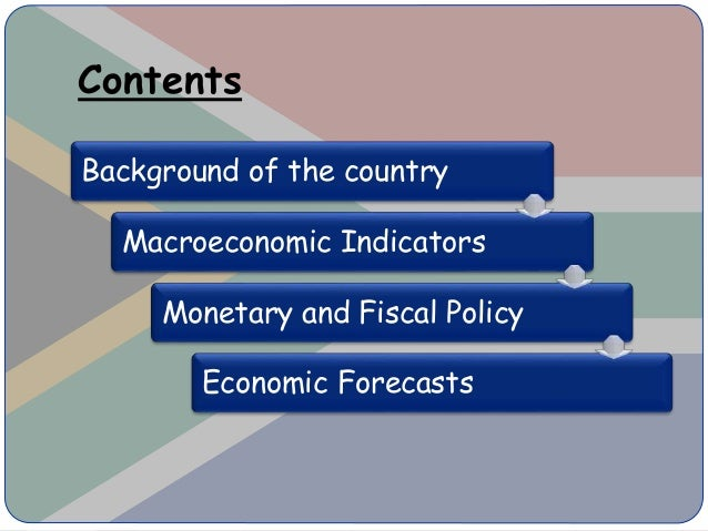 "the economic environment of south africa In 2010 the mckinsey global institute (mgi) described the potential and progress of african economies as ""lions on the move"" today, despite the collapse of."
