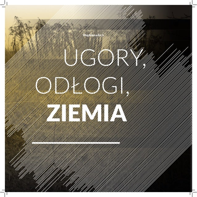 Magdalena ZychUgory,odłogi,ziemia