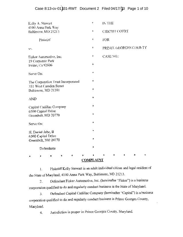 Case 8:13-cv-01131-RWT Document 2 Filed 04/17/13 Page 1 of 10